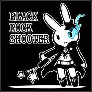 ほゆるうさぎDEブラック★ロックシューター